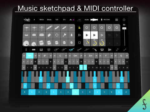 Firo - Music Maker, Instrument, Drums, Chords, Looper, and MIDI Controller