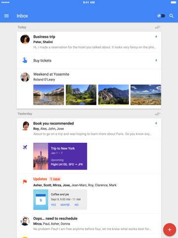 Inbox by Gmail- una nueva aplicación de correo que te ahorra trabajo