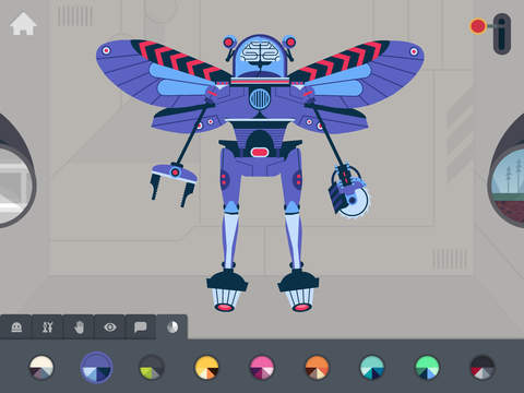 La fábrica de robots de Tinybop