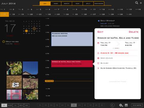 Super Calendar for iPad