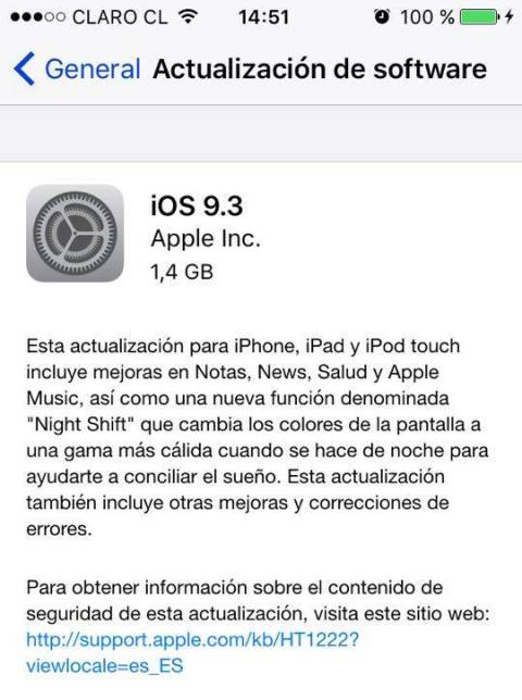 ios 9.3 13E237