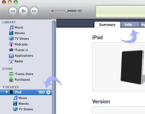 import-contacts-into-ipad-2