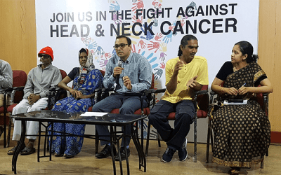IPH at a Press Conference on World Head and Neck Cancer Day 2016