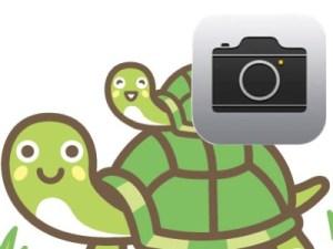 iPhoneの標準カメラでスローモーション動画の録画/再生をする