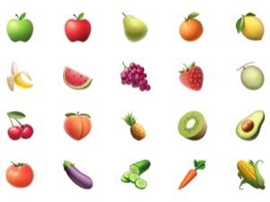 iPhone、絵文字の意味(名前)一覧【食べ物と飲み物&活動】