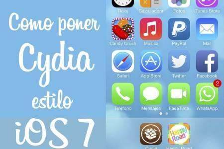 como poner icono de cydia estilo ios 7