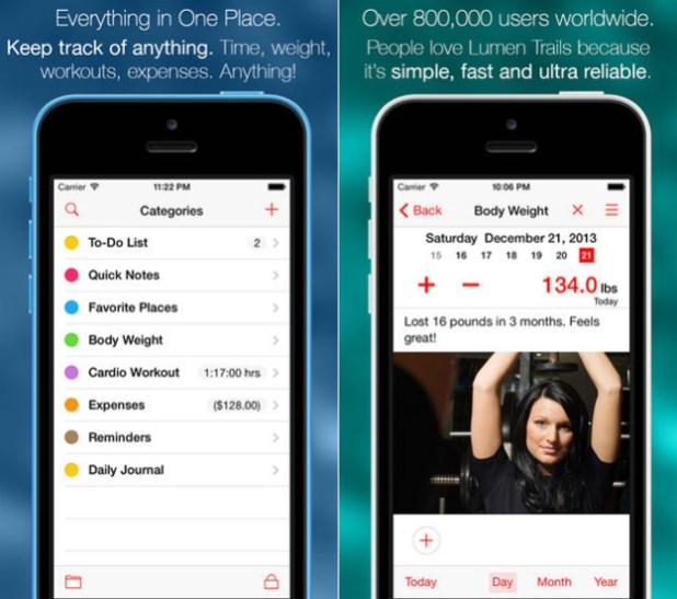 Apps Grátis iPhone Lumen Trails