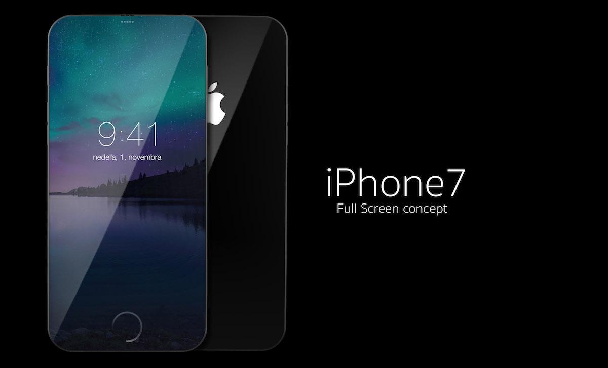 Vídeo imagina como seria um iPhone 7 com tela sem bordas