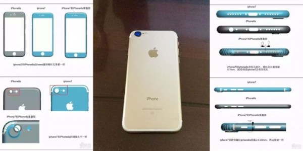 Images of iPhone 7 - New Photos Reveal Larger Camera Lens