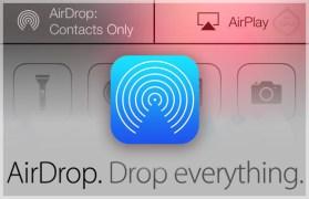 دليل التعامل مع خدمة AirDrop