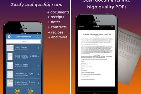 quick scanner quickly scan doc iphone ipad