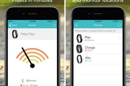 fitbit finder ipad iphone