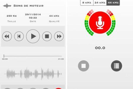 my rec enregistreur audio iphone ipad
