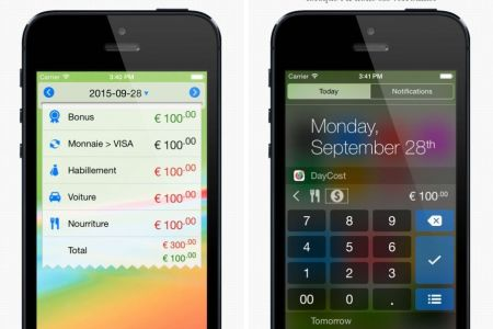 daycost pro finances personnel iphone ipad