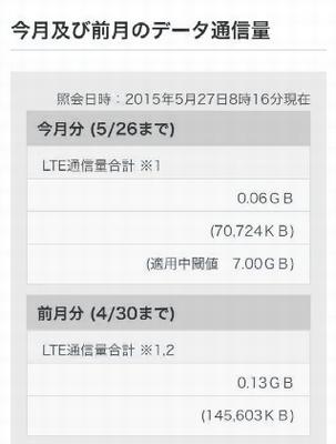 【キャリア別】iPhoneでパケット通信量を確認する方法!!01