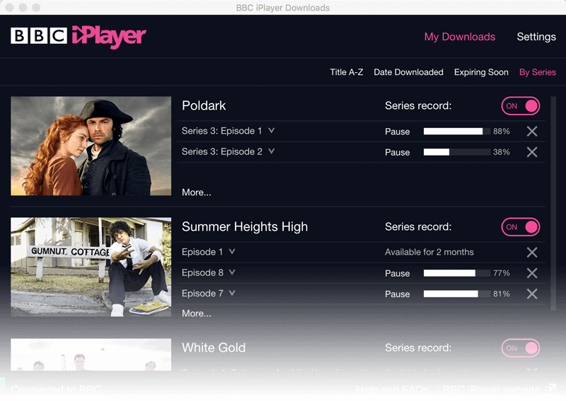 BBC iPlayer   BBC iPlayer Downloads app BBC iPlayer Downloads app