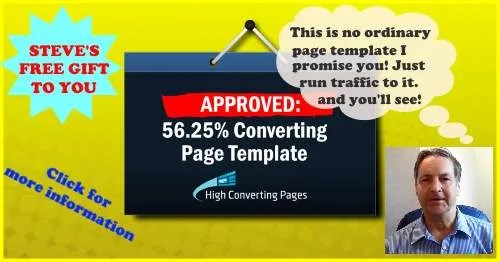 Bonus - High Converting Sales Page Template
