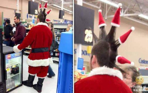 Santa Spike Mohawk