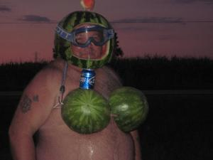 Watermelon - bud light - Ready for war