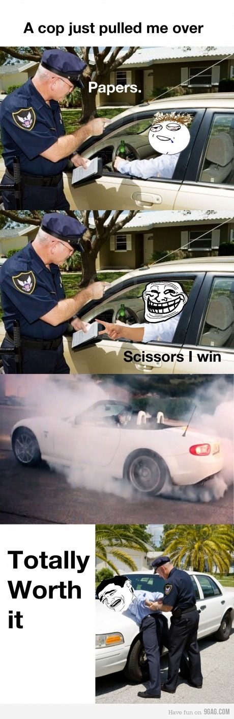 Arrested Like A Boss funny