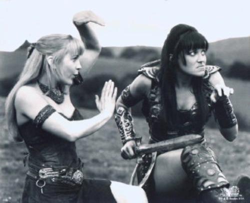 Xena and Gabby Dance