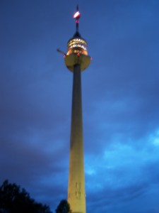 donauturm (danube tower) vienna, austria