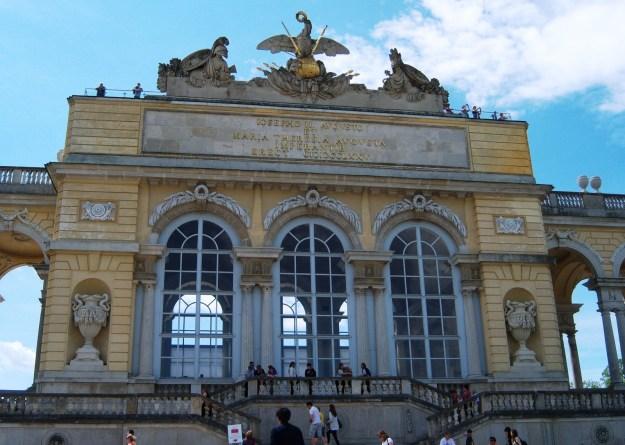 gloriette, schonbrunn palace, vienna, austria