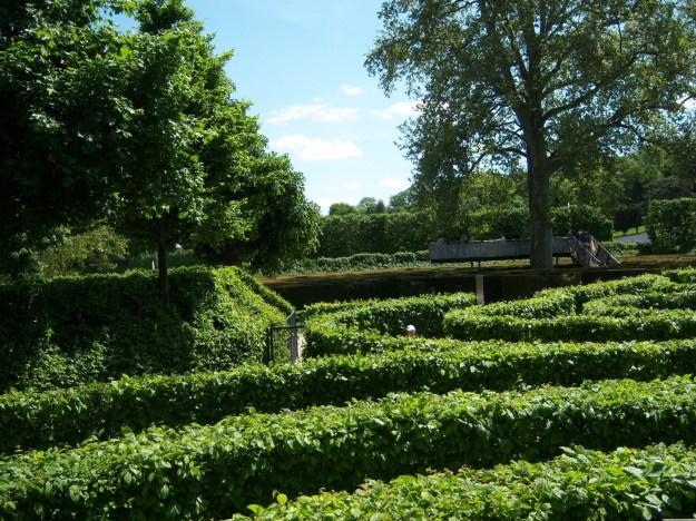 maze, schonbrunn palace, vienna, austria