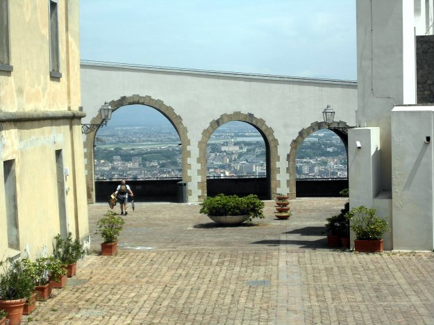 castel sant'elmo, naples italy