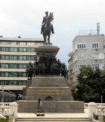 monument to the tsar liberator, sofia, bulgaria