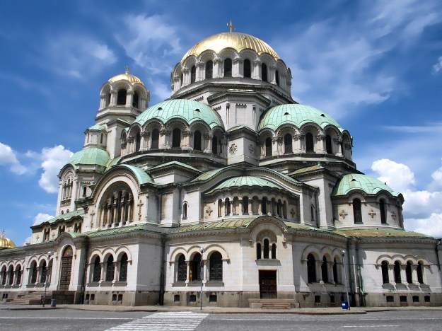 alexander nevsky church, sofia, bulgaria