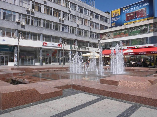 fountains Nis, Serbia