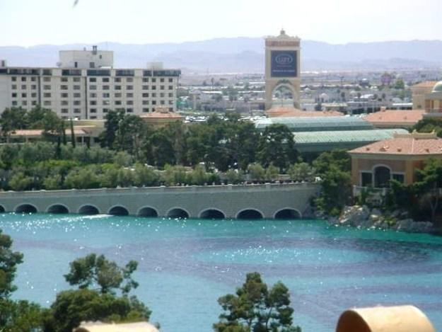 Bellagio Lake View from Barbary Coast, Las Vegas, Nevada