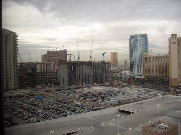 Room view of Fontainebleu - Sahara Las Vegas