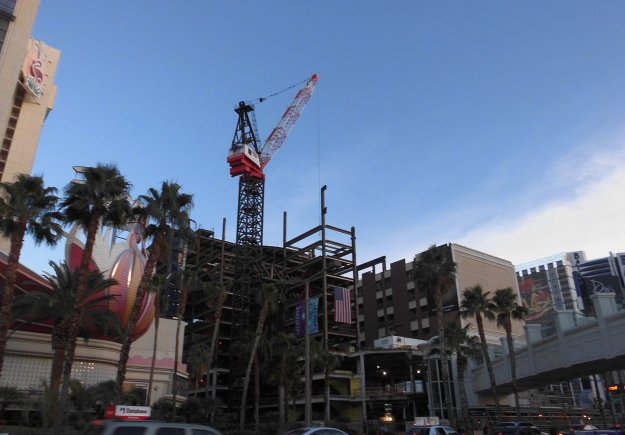 Las Vegas Flamingo Barbary Coast construction