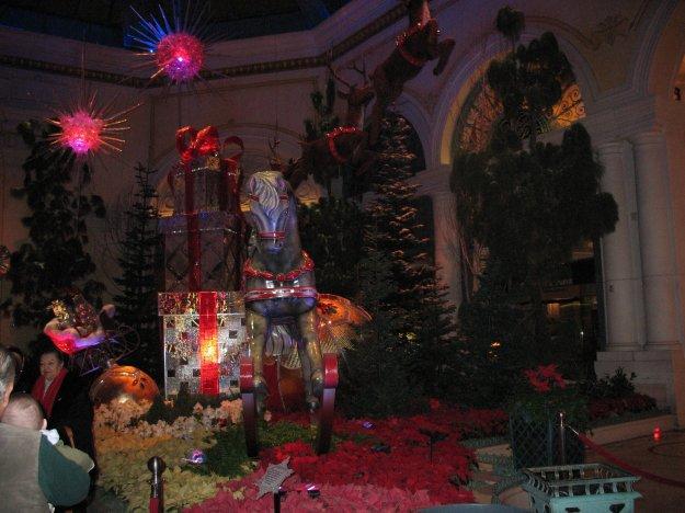 bellagio las vegas christmas conservatory