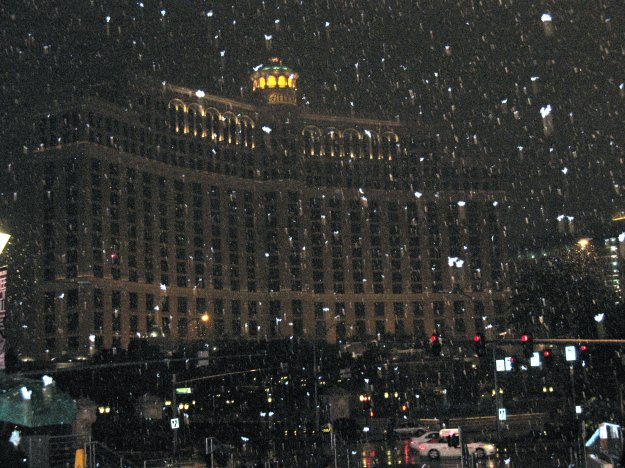 bellagio snow