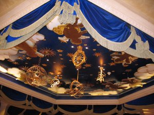 mystere ceiling
