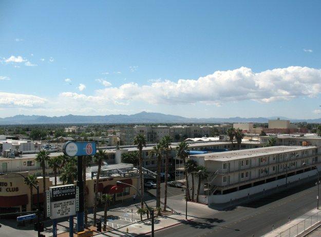 """El Cortez Las Vegas Pavillion Room """"Balcony"""""""