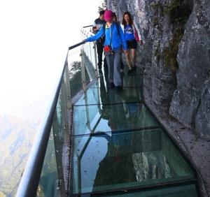 zhangjiajie glass walk
