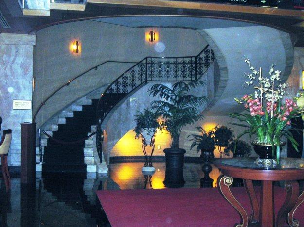 El Cortez fancy new staircase Las Vegas