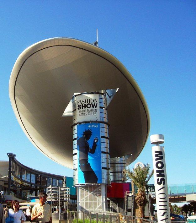 Fashion Show Mall Cloud Las Vegas