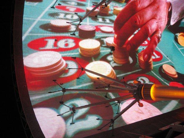 Fremont Street Experience Las Vegas Roulette