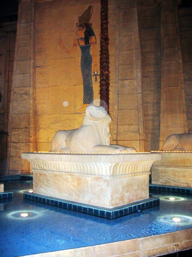 Luxor interior Las Vegas