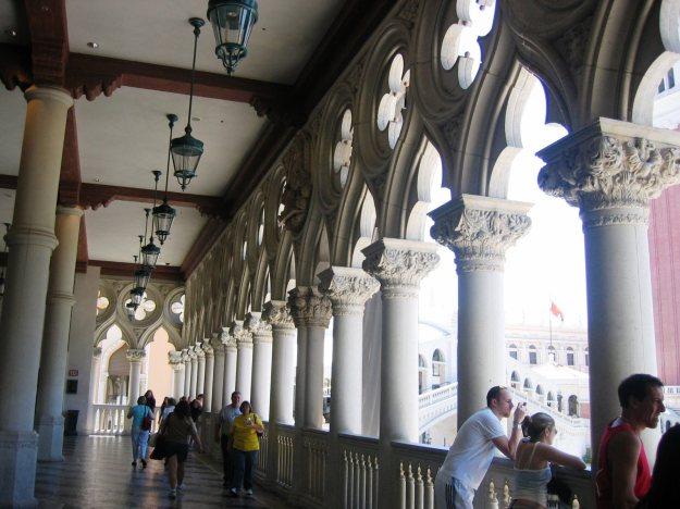 Venetian walkway Las Vegas