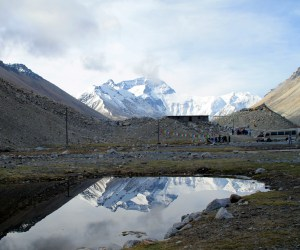 mount everest reflection