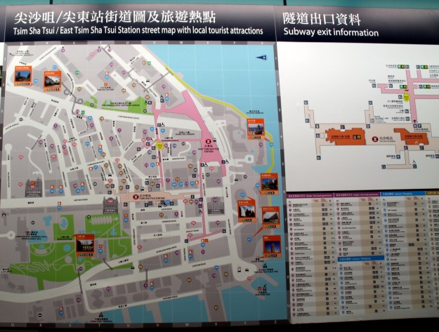 super helpful subway station maps hong kong china