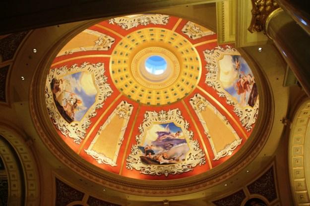 Venetian ceiling art macau