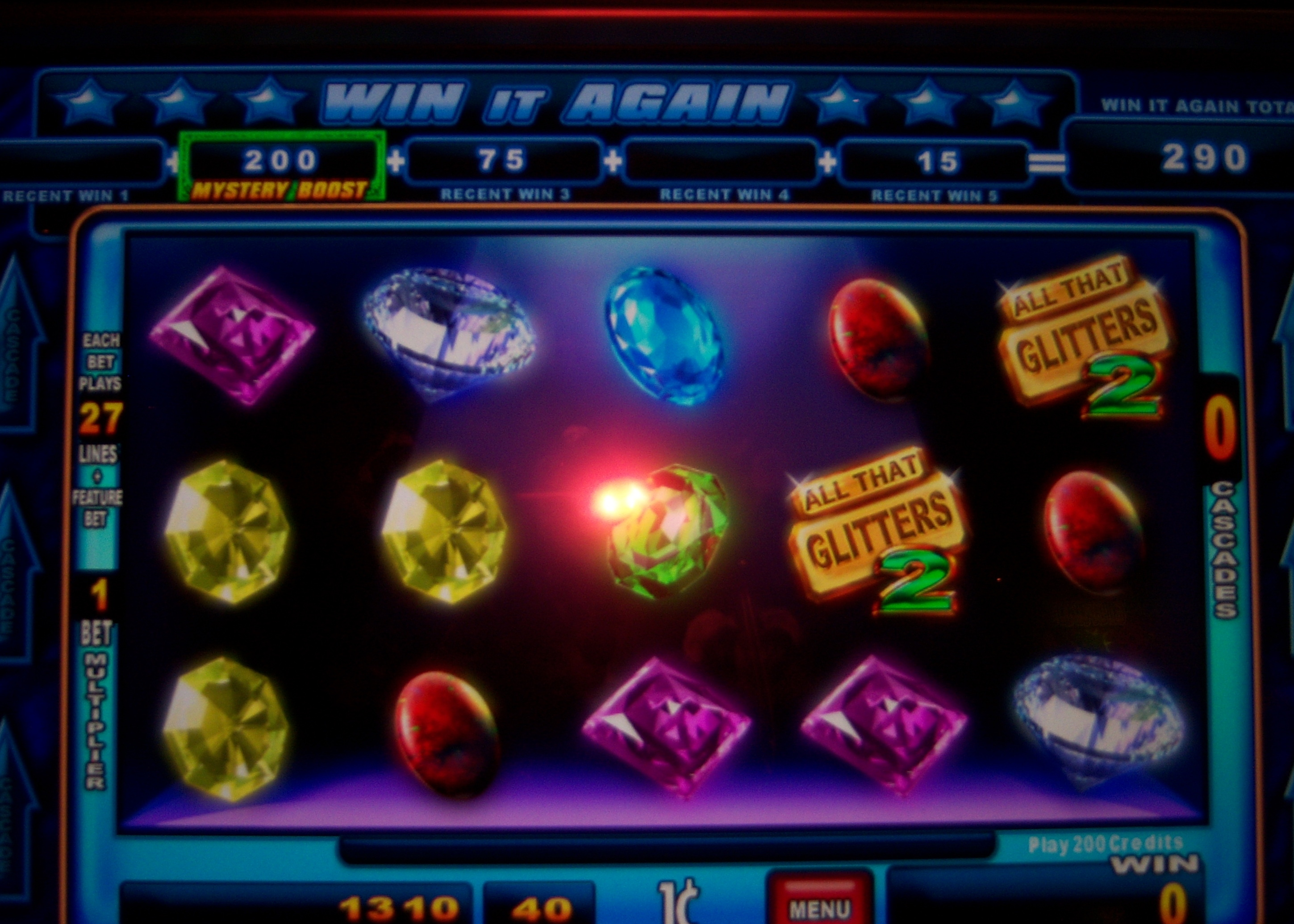 Play all that glitters slot game