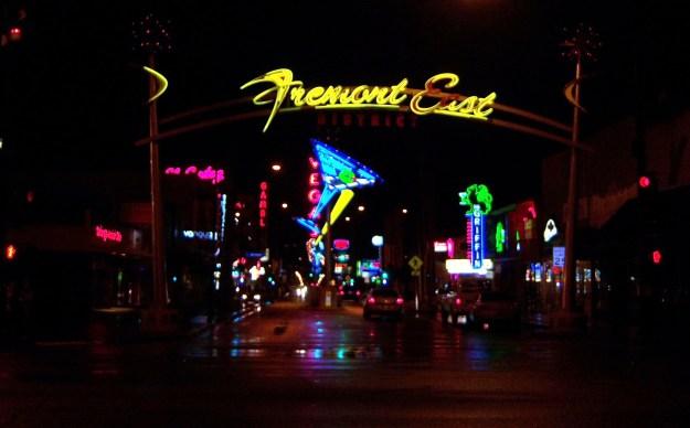 FREMONT STREET EAST LAS VEGAS NEVADA